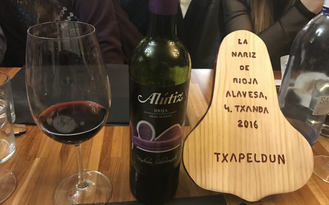 Alútiz en la nariz de Rioja Alavesa