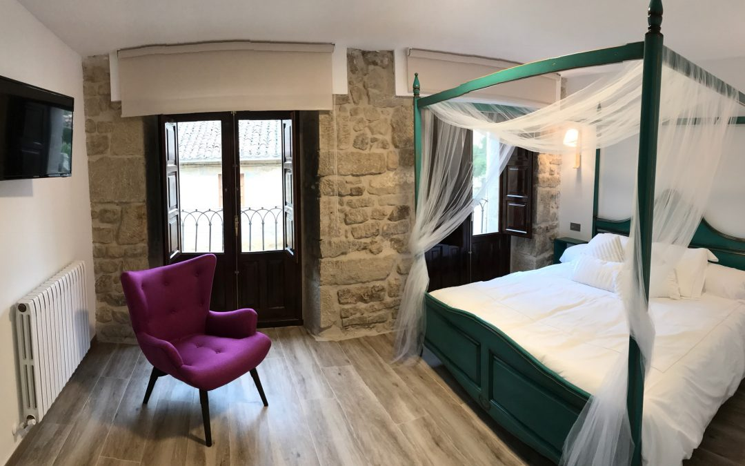 (Español)  ¿  Y  si  vamos  a  Dormir  en  Rioja  Alavesa?  En  ALÚTIZ
